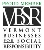 Proud Member Vermont Business for Social Responsibility